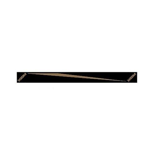 Xiom Kantenband Black Plain 12mm