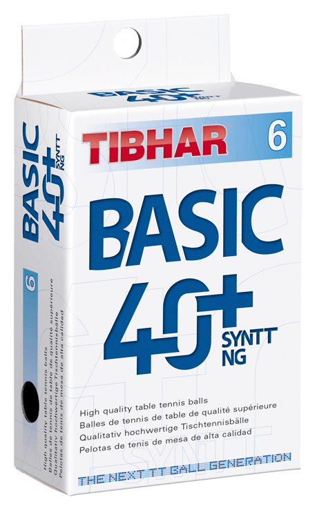 Tibhar Basic 40+ SYNTT NG 6er orange