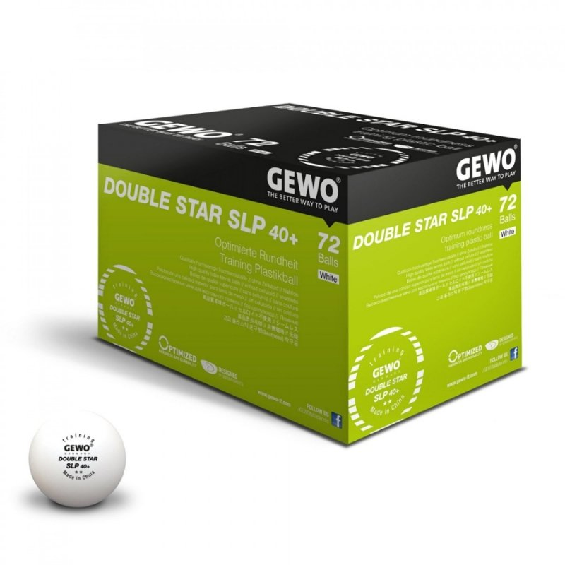 Gewo Double Star SLP 40+ Training 72er weiß