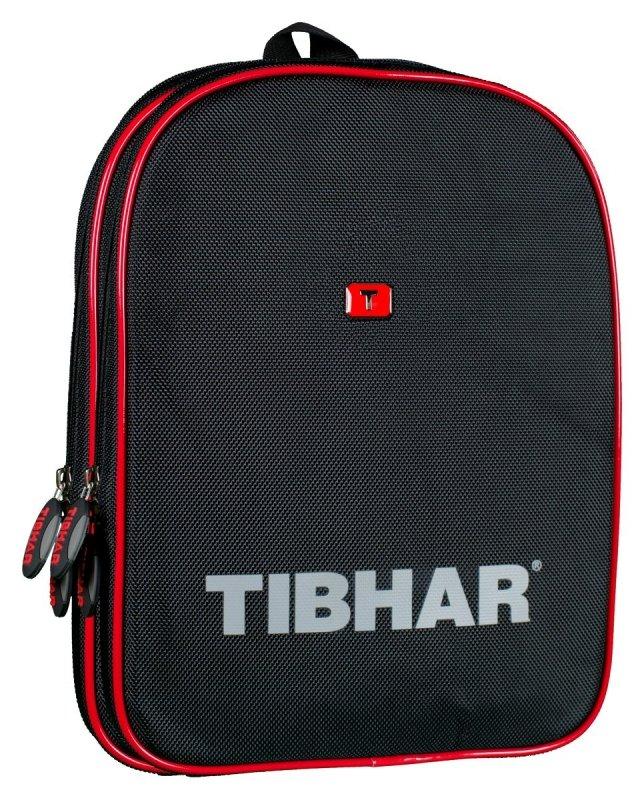Tibhar Doppelhülle Shanghai schwarz/rot