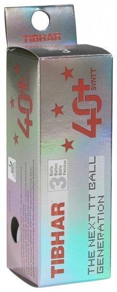 Tibhar *** Ball 40+ SYNTT 3er-Pack weiss
