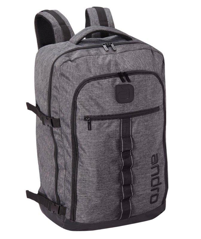 andro Backpack XXL Munro grau/schwarz