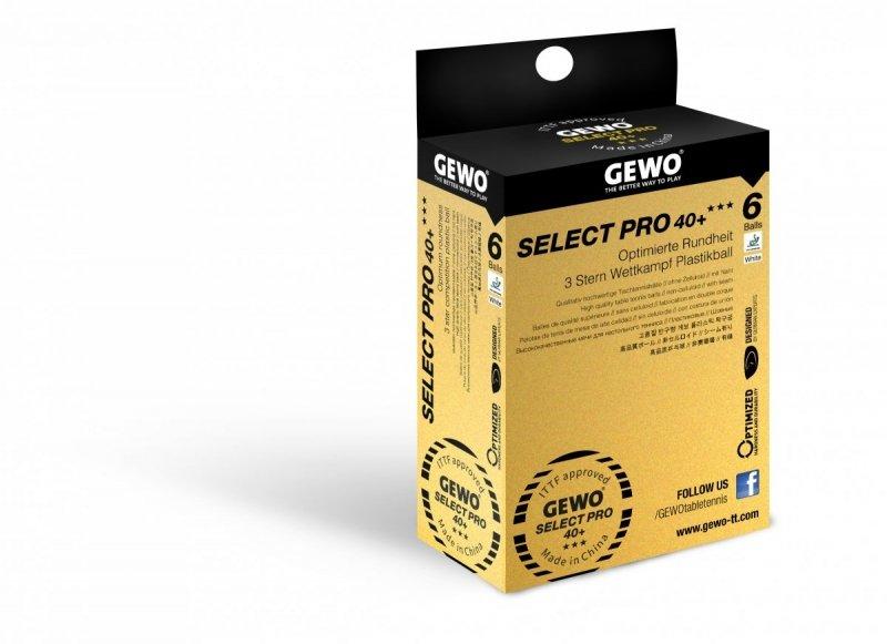 Gewo Select Pro 40+ 6er weiß