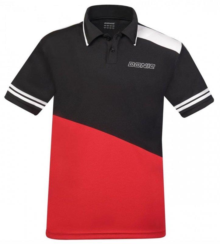 Donic Trikot Prime schwarz/rot