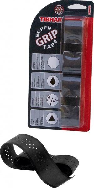 Tibhar Griffband Super Grip Tape schwarz/rot