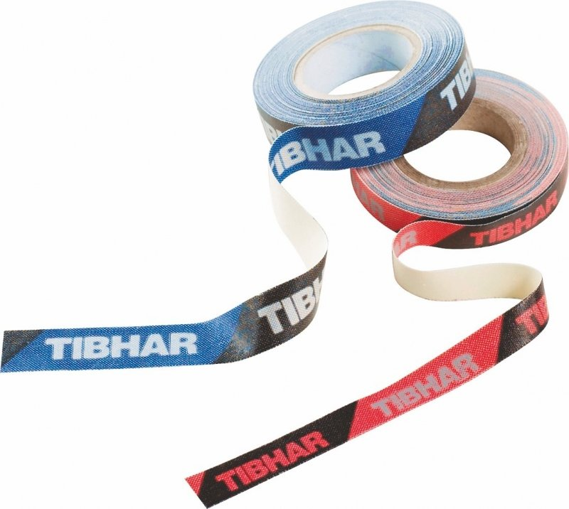 Tibhar Kantenband rot/schwarz 9mm