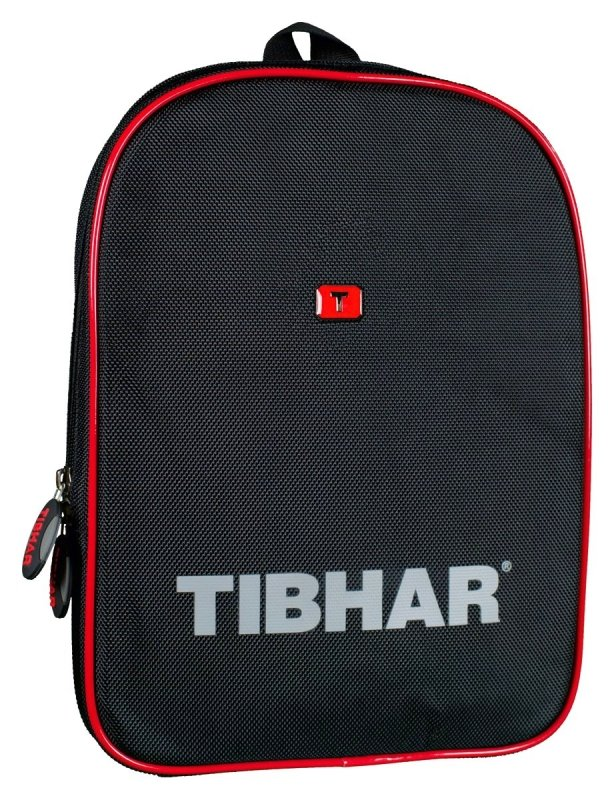 Tibhar Einzelhülle Shanghai schwarz/rot