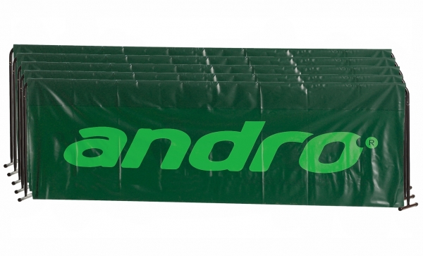 andro Umrandung Basic 5er-Paket 2,33m x 70cm grün