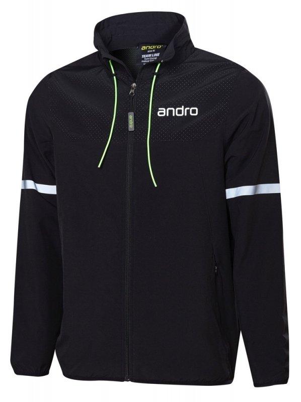 andro Nelson Anzugjacke schwarz/grün