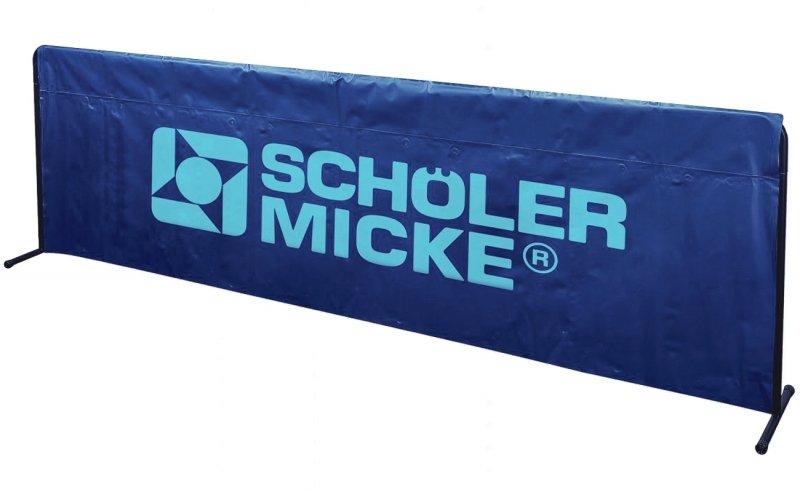 S&M Umrandung Basic 2,33m x 70cm blau
