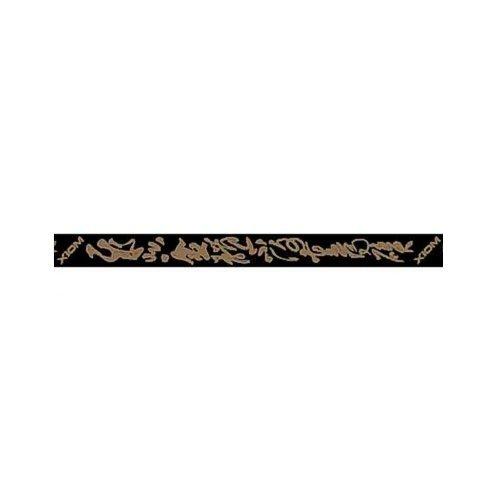 Xiom Kantenband Black Mandarin 12mm