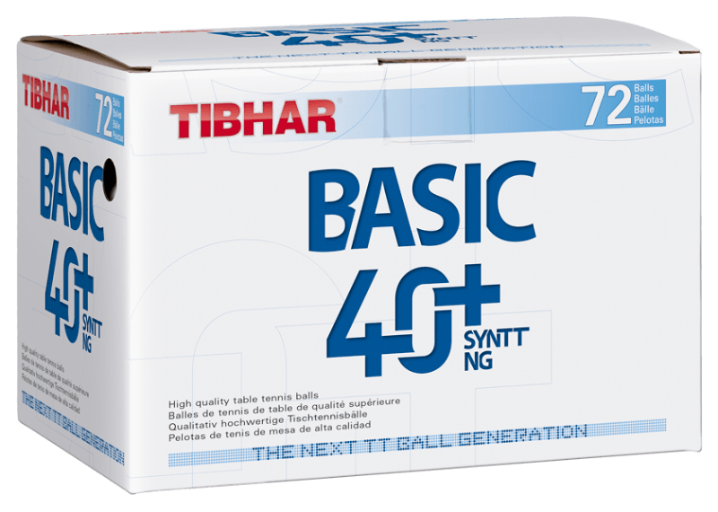 Tibhar Basic 40+ SYNTT NG 72er orange