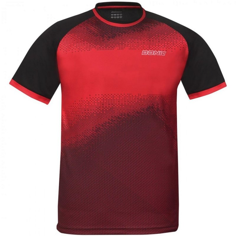 Donic T-Shirt Agile rot/schwarz
