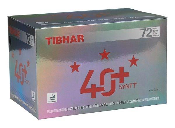 Tibhar *** Ball 40+ SYNTT 72er-Pack weiss