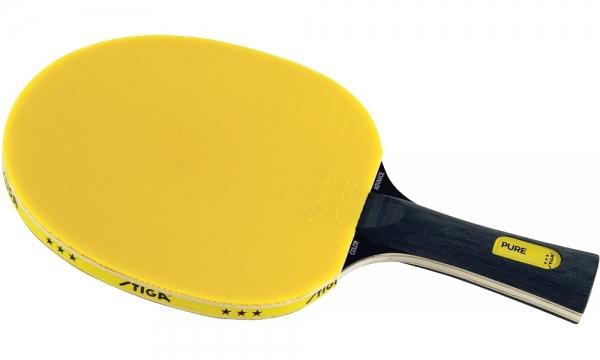 Stiga Schläger Pure Color Advance gelb konkav