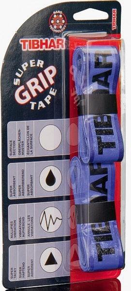 Tibhar Griffband Super Grip Tape blau/schwarz
