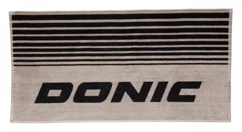 donic Handtuch Flux grau/schwarz
