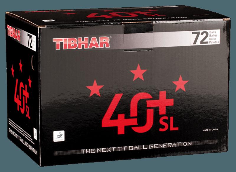Tibhar 40+ SL 72er weiß