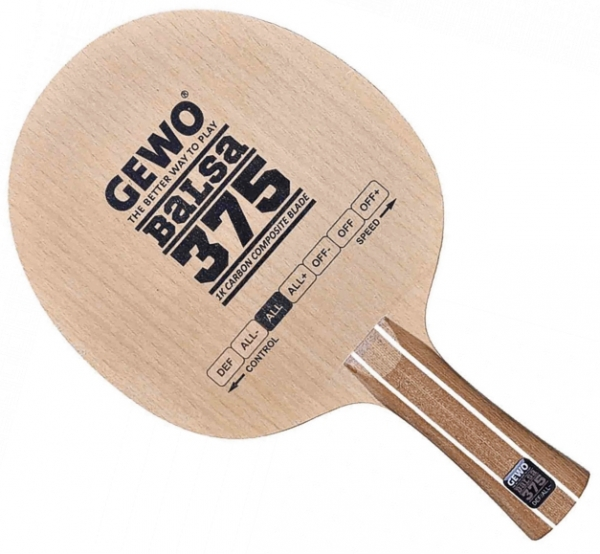Gewo Balsa Carbon 375-Copy