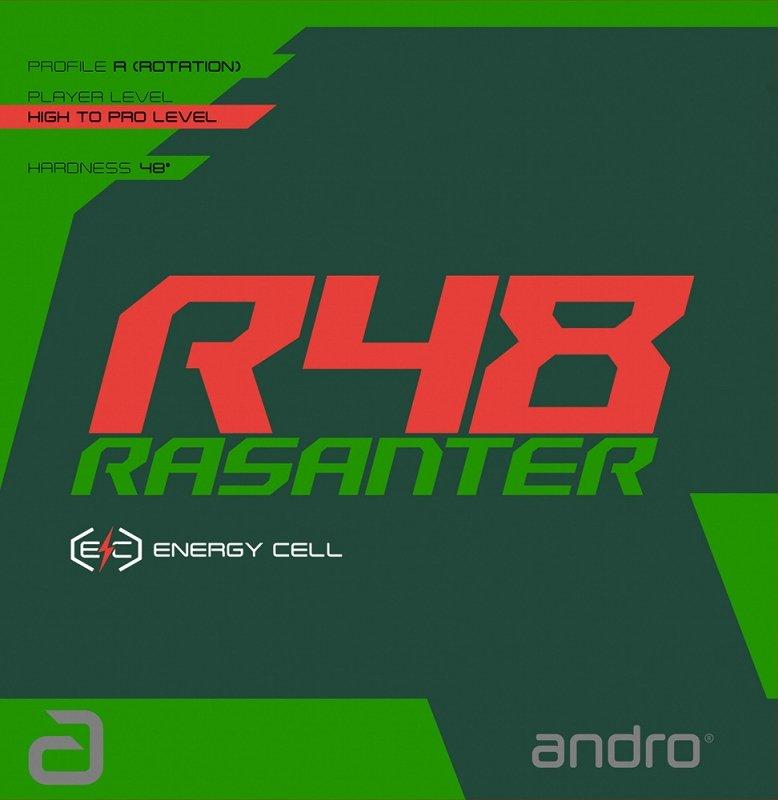andro Rasanter R48 Tischtennisbelag