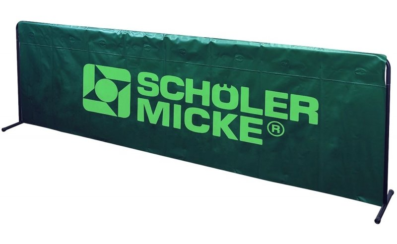 S&M Umrandung Basic 2,33m x 70cm grün
