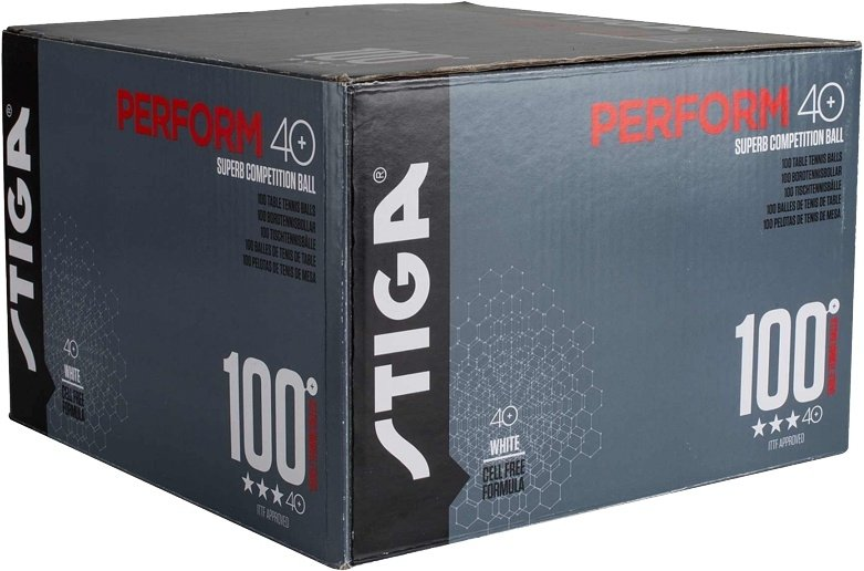 Stiga Perform ABS P40+ 100er weiß