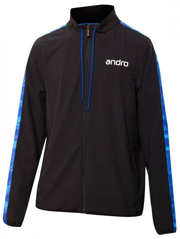 andro Lennox Anzugjacke schwarz/blau