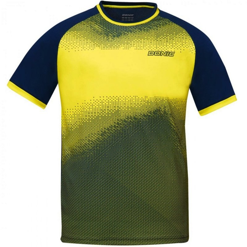 Donic T-Shirt Agile gelb/marine