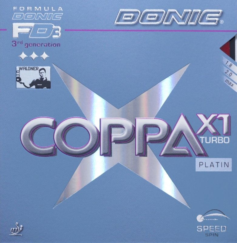 Donic Coppa X1 Turbo Platin