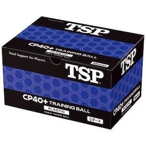 TSP Ball CP 40+ Trainingsball 60er - weiss