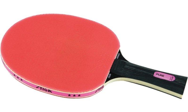 Stiga Schläger Pure Color Advance pink konkav