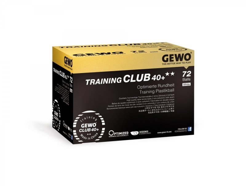 Gewo ** Training Club 40+ 72er weiß