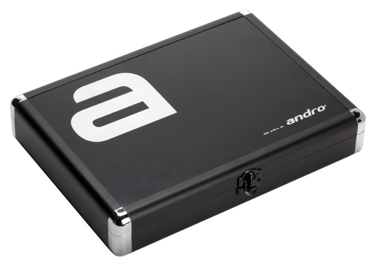 andro Alu Case Alpha - schwarz