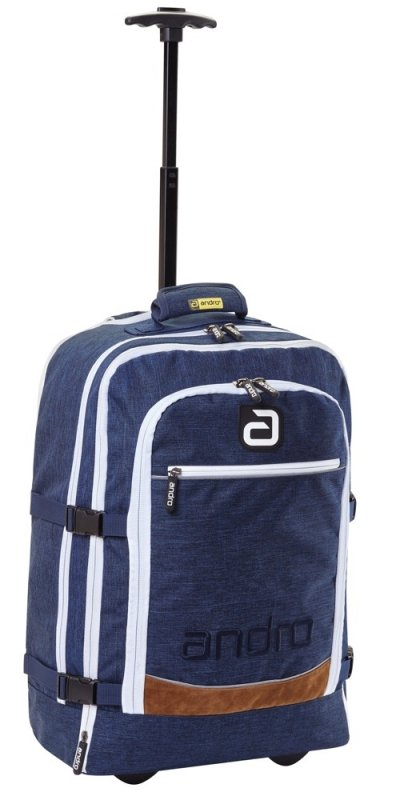 andro Trolley/Backpack Salta blau/weiß