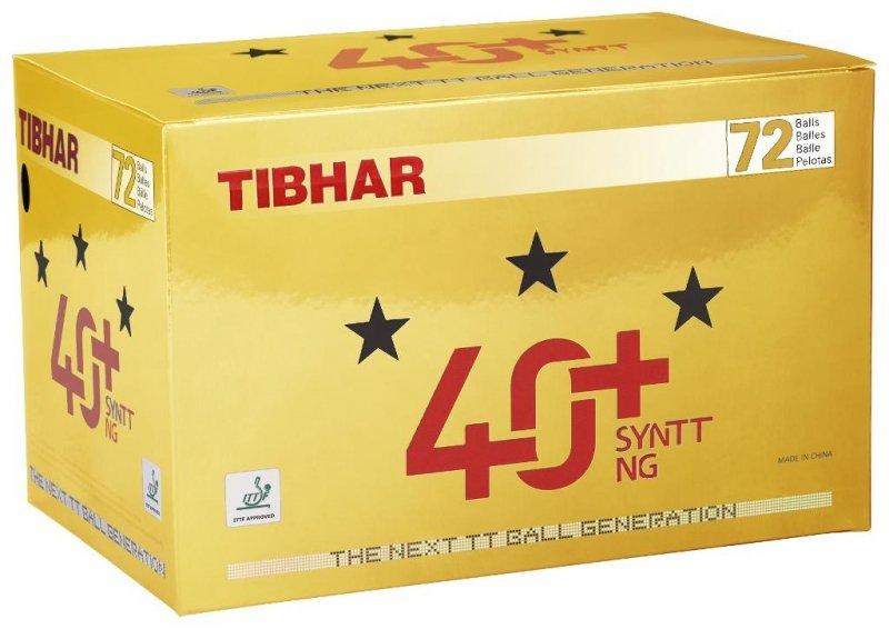 Tibhar 40+ SYNTT NG 72er weiß